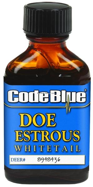 Code Blue Whitetail Doe Estrous Urine 1oz