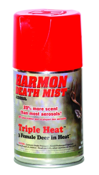 Harmon Aerosols Scents 6oz Triple Heat Death Mist