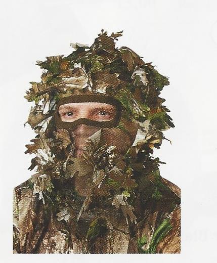 Hunters Specialities Head Net Leafy RTXtra